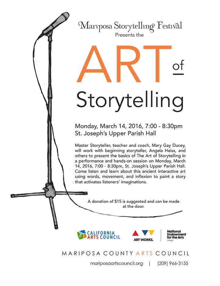 Art of Storytelling orange