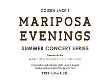 Cousin Jack's Mariposa Evenings Concert Series 2015 Lineup