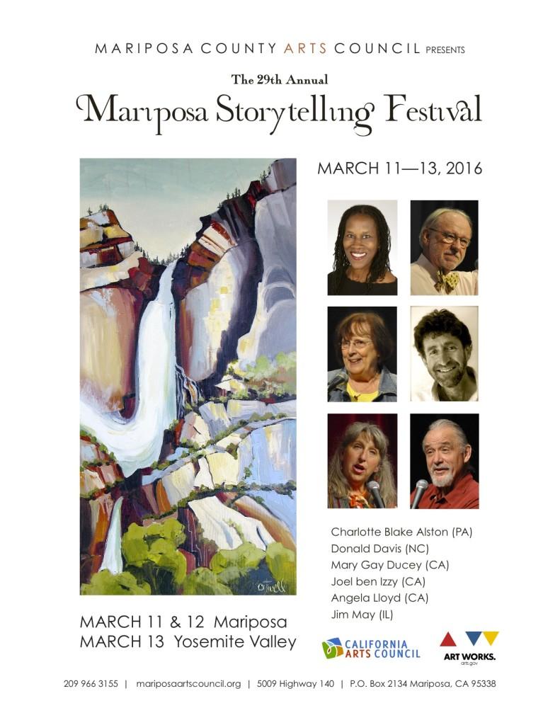 Storytelling Pre-Brochure Flier 2016