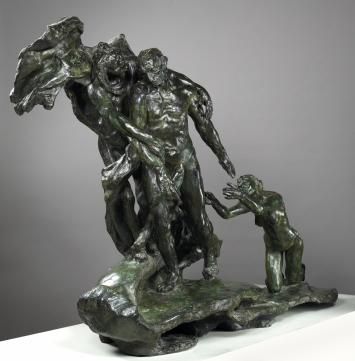"Camille Claudel, ""The Age of Maturity,"" Bronze, 1899."