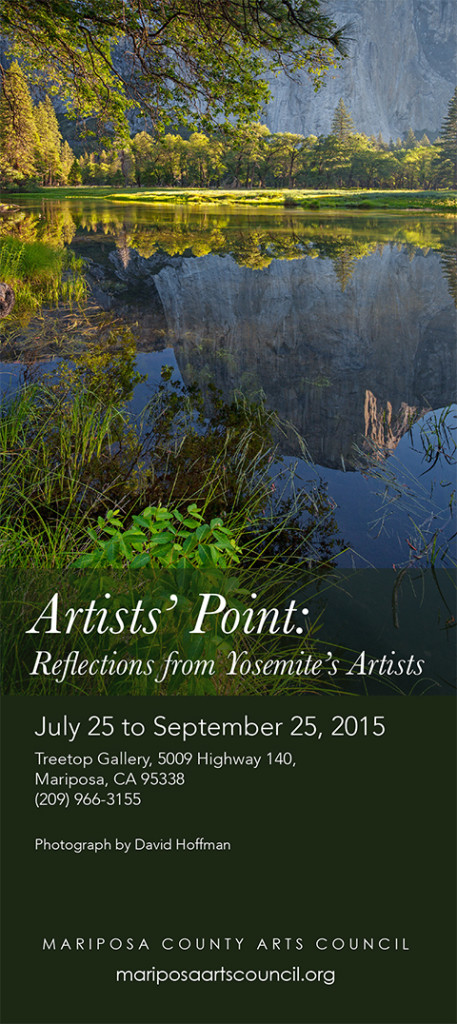 Artists' Point Yosemite Exhibition 2015 sv