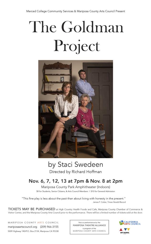 The Goldman Project Poster final sv