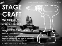 FREE Stage Craft Workshop August 1st