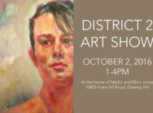 District 2 Art Show Forms Online Now