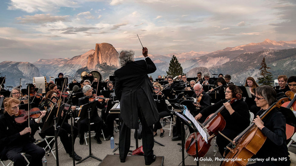 August 21, 2016 Mariposa Symphony Orchestra, Our Nations's Nature by Les Marsden.