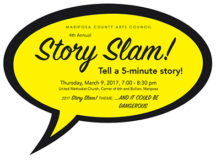 Prepare Your 5-Minute Story for the Story Slam!
