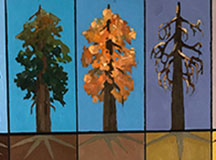 Treetop Gallery Artists Explore the Issue of Tree Mortality